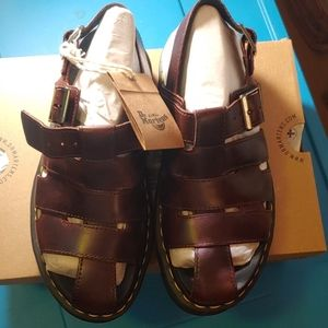 DR MARTENS ABEL SANDALS Size 7 NEW WITH TAGS
